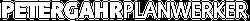 Peter Gahr Planwerker Logo